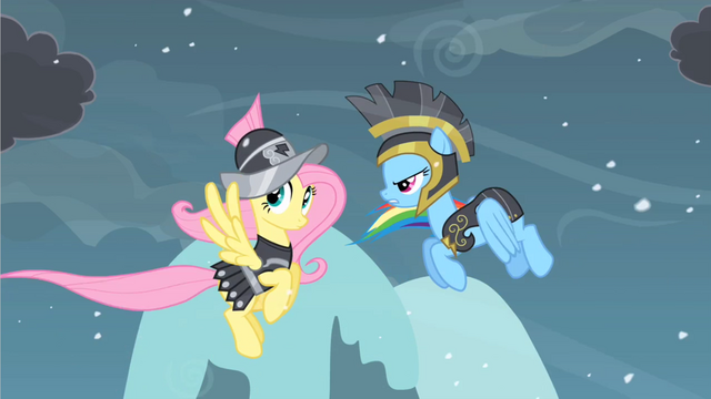 File:Rainbow Dash and Fluttershy S02E11.png