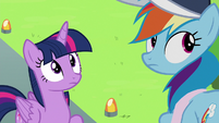 Twilight and Rainbow continue watching Sky and Vapor S6E24