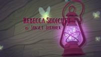 Legend of Everfree credits - Rebecca Shoichet EG4