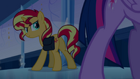 Sunset Shimmer looking sinister EG