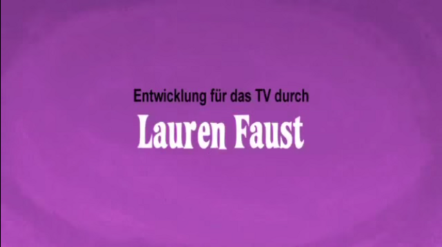 File:Developed for Television by Lauren Faust Credit - German (DVD).png