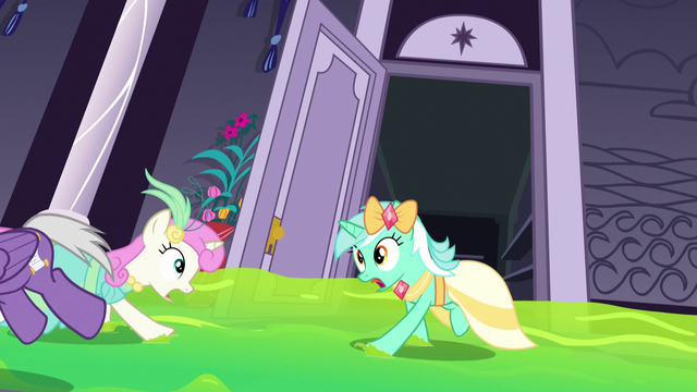 File:Ponies in a ballroom panic S5E7.png