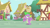 """Spike """"between the three of us"""" S4E23"""