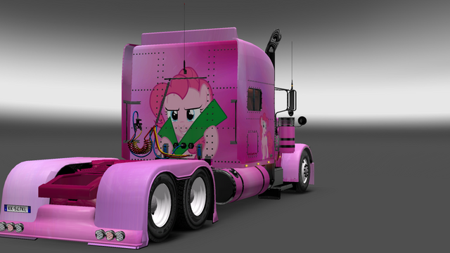 File:FANMADE ETS2 Pete 389 Custom - Pinkie Pie Skin 9.png