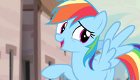 "Rainbow Dash ""is she for real?"" S5E01"