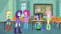 Rarity e-mail from Pinkie Pie EG