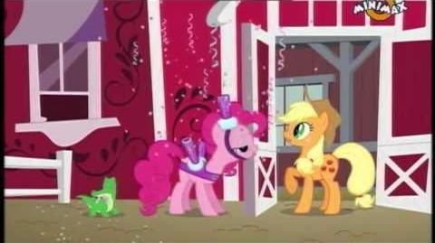 Pinkie Pie's Singing Telegram - Romanian
