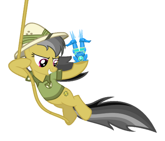 File:FANMADE Daring Do transparent background.png