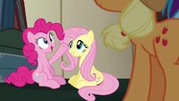 "Pinkie Pie relieved ""why didn't you say so?"" S6E18"