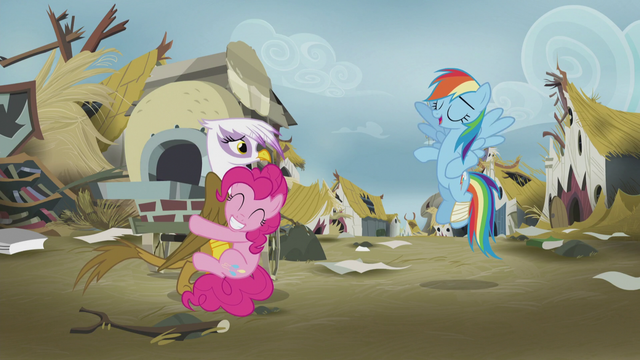 "File:Rainbow Dash ""just try and stop us!"" S5E8.png"