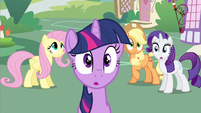 Rarity oh there's Twilight S2E20