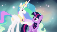 "Twilight and Celestia ""taught you well"" S03E13"