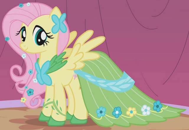 File:Fluttershy Gala outfit ID S1E14.png