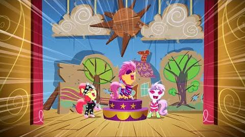 MLP FiM - Cutie Mark Crusaders song! (Slovenian, POP TV version)