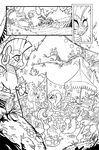 Friends Forever issue 5 preview uncolored