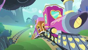 Friendship Express speeding down the tracks S5E1