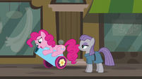 Pinkie happy to have her party cannon back S6E3