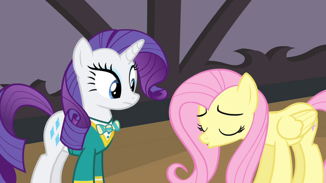File:Rarity looking at sad Fluttershy S4E14.png