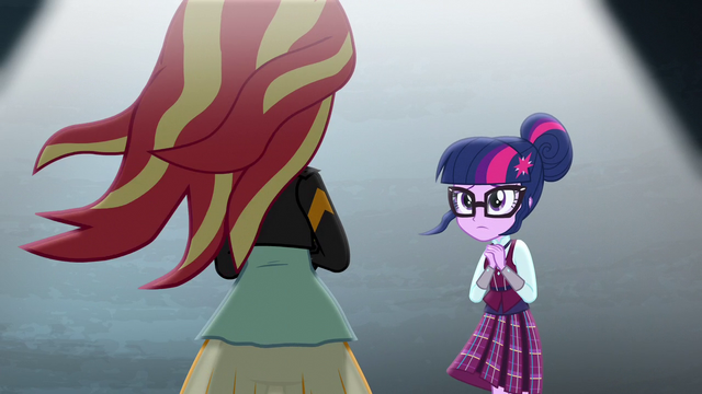 File:Twilight faces Sunset Shimmer EG3.png