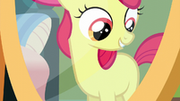 Apple Bloom's blank flank reflection S5E4