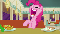 "Pinkie Pie excitedly ""Turns out..."" S6E9"