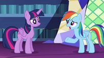 "Rainbow Dash ""cut off for a super long time"" EG2"