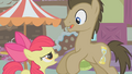 "Apple Bloom confronts Dr. Hooves ""Pretty sure?"" S1E12.png"