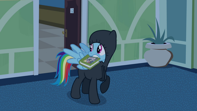 File:Rainbow Dash sneaking out 2 S2E16.png