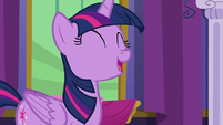 "Twilight ""to the knowledge of Equestria!"" S6E5"
