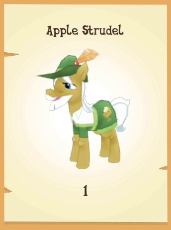File:Apple Strudel in-game model MLP mobile game.png