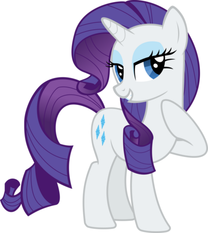 File:FANMADE Rarity vector by almostfictional.png