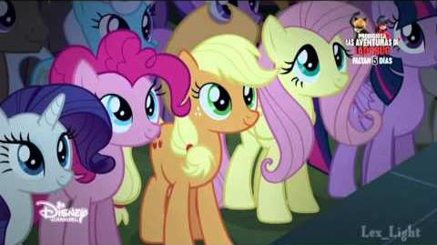My Little Pony LMdlA - Equestria, The Land I Love (Reprise) (Español de España) -720p