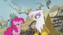 "Pinkie ""I saw that, Gilda!"" S5E8"