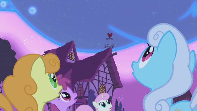 File:Ponies look on in wonder S1E06.png