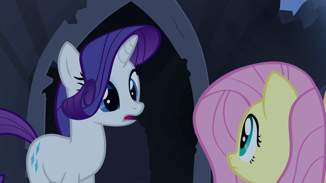"File:Rarity and Fluttershy ""find a smaller one"" S4E03.png"