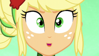 "Applejack shouting ""now!"" EG3"