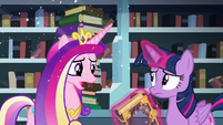"Cadance ""I'll help if I can"" S6E2"