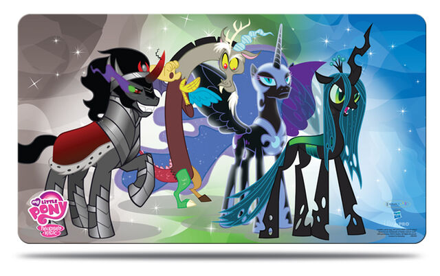 File:My Little Pony UltraPRO Villains Play Mat.jpg