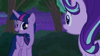 Thorax reciting Twilight Sparkle's speech S6E25