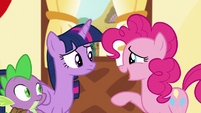 "Pinkie ""I wish we'd taken a picture for you!"" S5E22"