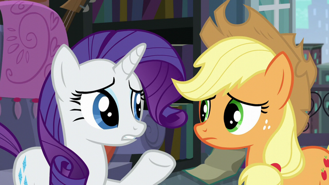 "File:Rarity ""why did it send the two of us?"" S5E16.png"