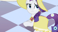 Rarity not pleased S2E9