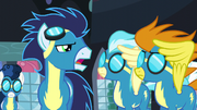 Soarin tells Misty Fly and Blaze to find Spitfire S5E15