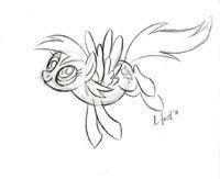 Lauren Faust Derpy Hooves sketch