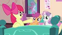 Scootaloo & Sweetie Belle liking idea S3E4