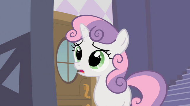File:Sweetie Belle 'We haven't eaten yet' S2E05.png