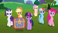 "Twilight and her friends ""time to get started"" S03E10"
