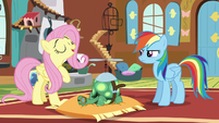 "Fluttershy ""just like sleeping is healthy for us"" S5E5"