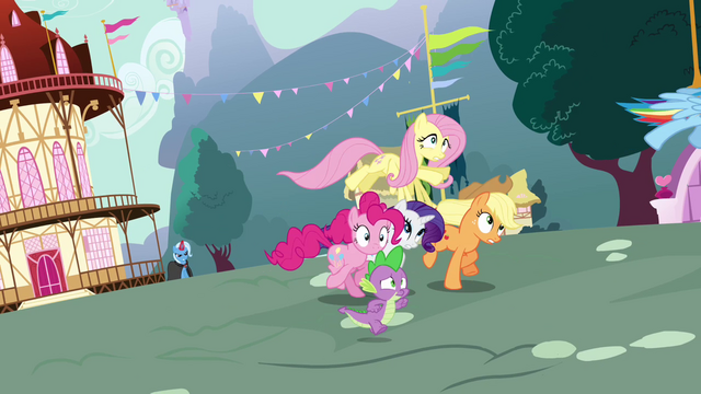 File:Twilight's friends running for Twilight S3E05.png