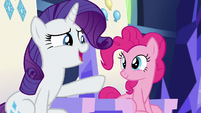 "Rarity ""maybe not too far away"" S6E12"